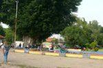 Alun-alun kota Pekalongan.